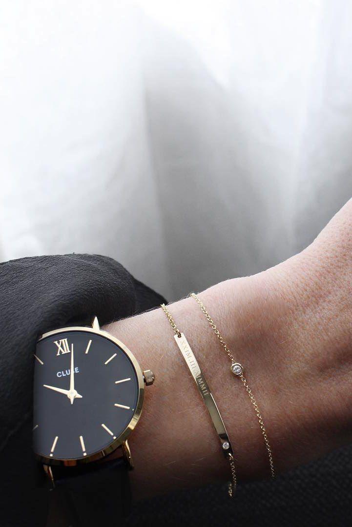 Gourmette et bracelet