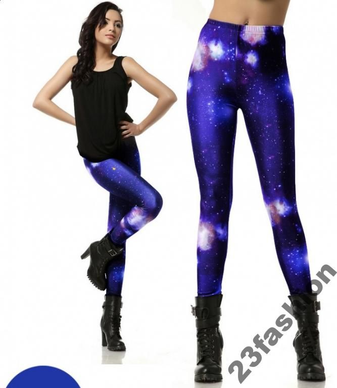 Legginsy Getry GALAXY  -50% 2XL i 4XL