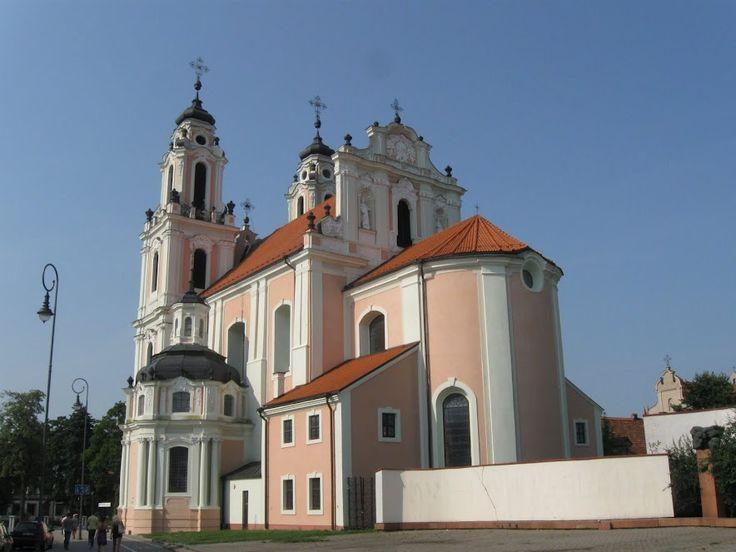 Костел святой Екатерины -Вильнюс - Литва