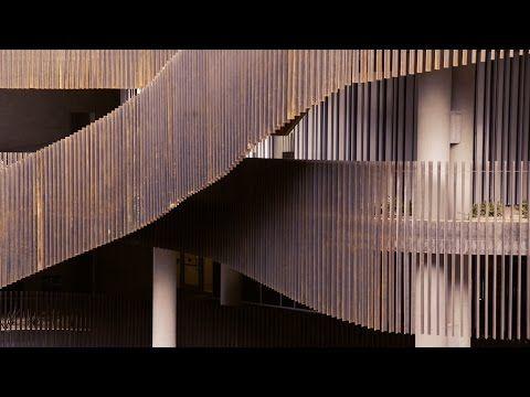 ENR2 Office Bldg - University of Arizona, Tucson. // Architects : GLHN + R/B  // Engineers: GLHN + Turner SE, 2015 (GLHN  Architects : T. Kauffman, B. Earl, C. Kilgore, M. Rojo ) Technical Architects handling Construction Documents, Engineering Coordination, Project Management, Construction Administration.