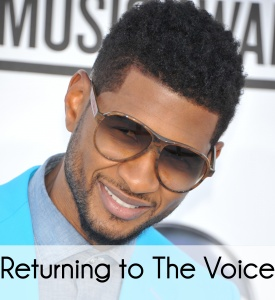 When will Usher be back on The Voice?