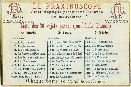 how to make a praxinoscope