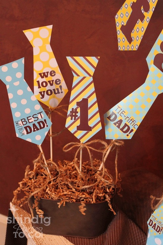 Father's Day Centerpieces