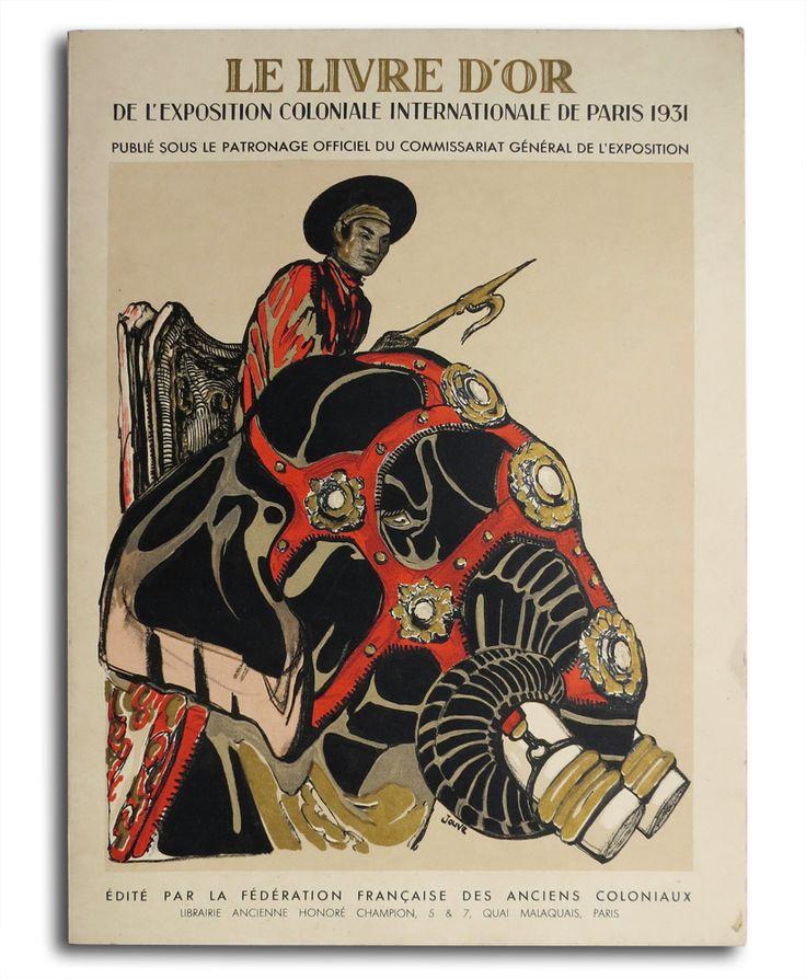 le livre d 39 or de l 39 exposition coloniale de paris 1931 tableau commun pinterest paris and. Black Bedroom Furniture Sets. Home Design Ideas