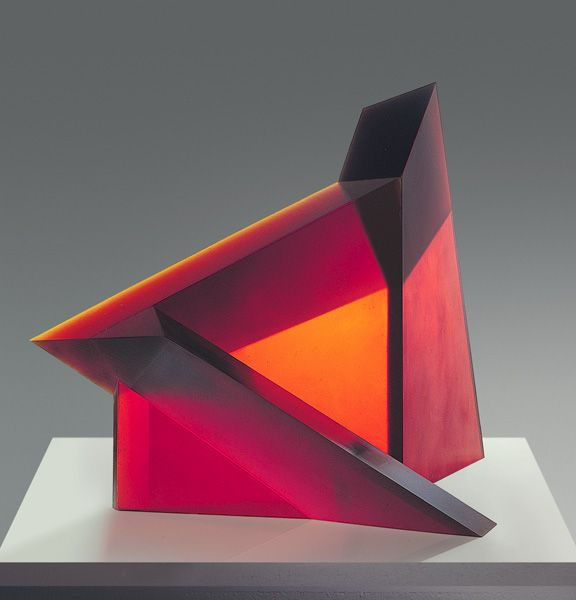 Stanislav Libensky and Jaroslava Brychtova - Untitled Sculpture en verre http://www.libensky.net