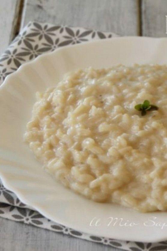 Ecco la mia ricetta del risotto alla parmigiana un primo piatto facile e gustoso…