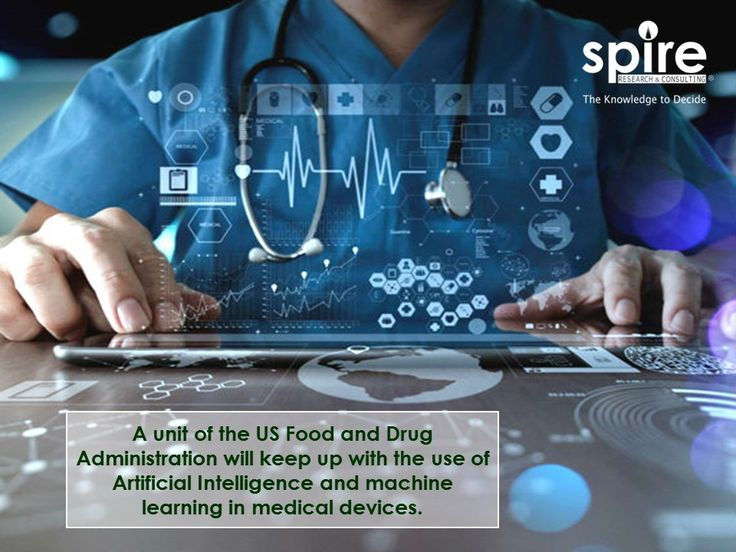 A unit of the US Food and Drug Administration will keep up with the use of Artificial Intelligence and machine learning in medical devices.  #Spire#Healthcare#AI#MachineLearning#FDA#Medicaldevice#Trivia