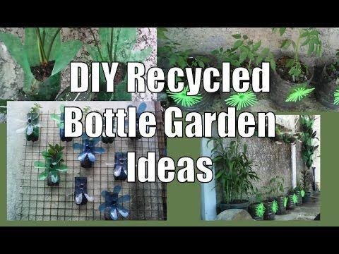 DIY Recycled Bottle Garden Ideas | Happy House and Garden