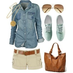 cute casual outfits for summer - Google Search