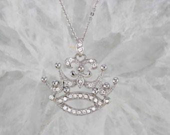 Anillo de la corona de plata esterlina con por Victoriazsilver