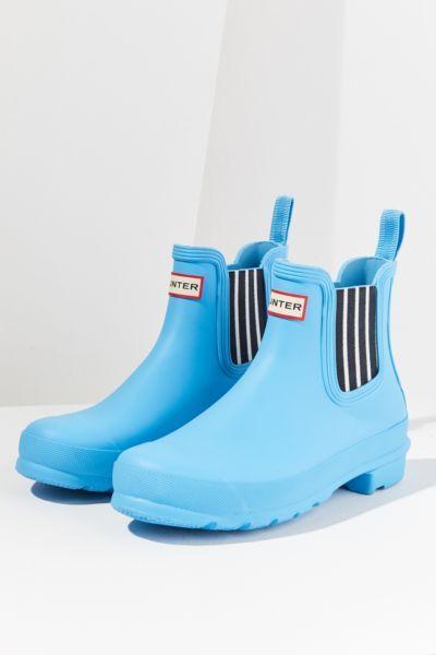 Hunter Original Garden Stripe Chelsea Rain Boot | Urban Outfitters Canada