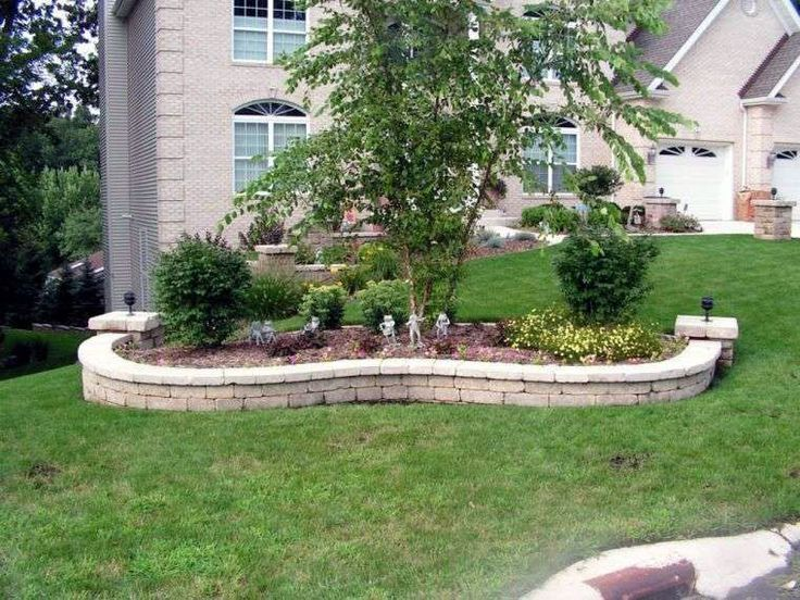 Ways To Decorate A Flower Bed Edging Ideas Pinterest To Refresh Your Garden With Images Garden Pavers Pond Landscaping Front Flower Beds