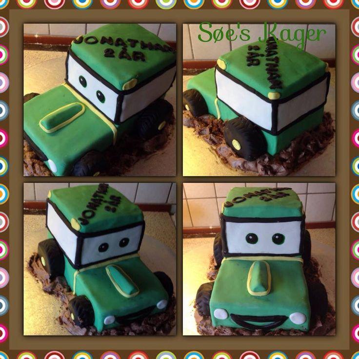 Traktor-kage