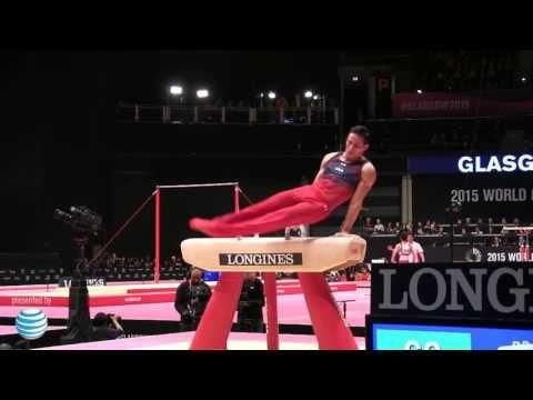 Donnell Whittenburg - Pommel Horse - 2015 World Championships - Team Final - YouTube