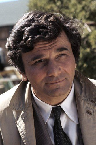 Columbo - my mum's favourite TV detective.