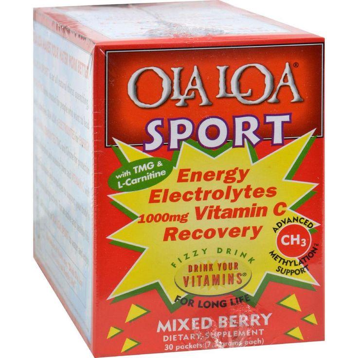 Ola Loa Sport Mixed Berry - 30 Packets - 0833194