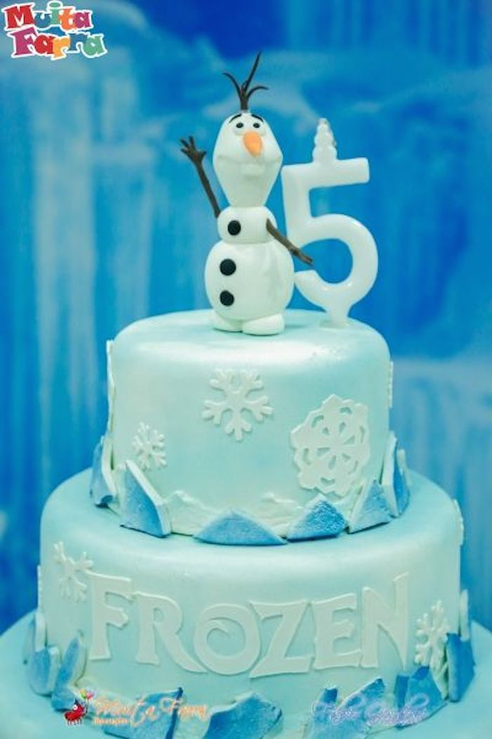 Frozen themed birthday party with Lots of Cute Ideas via ...