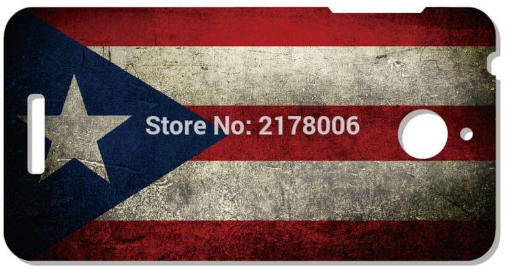 Розничная Пуэрто-Рико Флаг Пластиковые Футляр Телефон Обложка Для HTC one X M7 M8 Мини M9 Плюс M10 E8 A9 Desire 510 глаз M910x Mobile Case