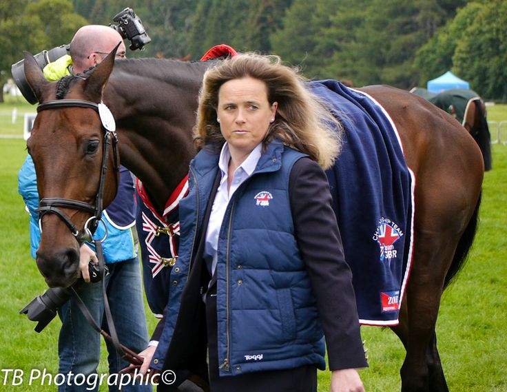 Pippa Funnell with Sandman 7 GBR