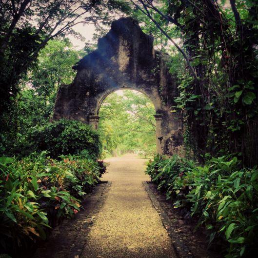 Entrance to Hacienda San Jose , Mexico http://wheresbrentbeen.com/2013/07/11/haute-haciendas/
