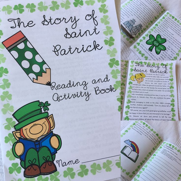 St. Patrick's Day History Story Vocabulary exercises Comprehension exercises Worksheets
