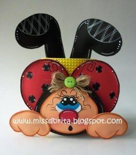 fun foam ladybug