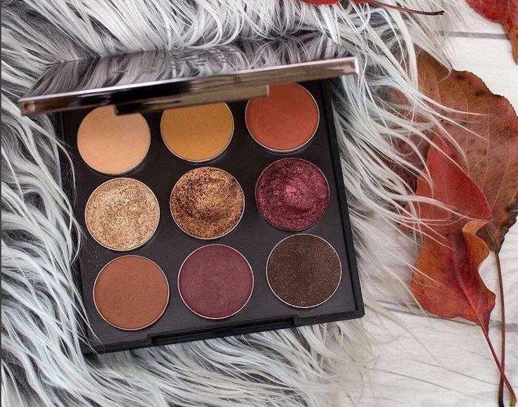 autumn glow eyeshadow bundle by @makeupgeek