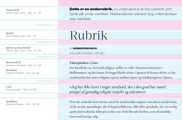 Weekendavisen — iPad app by Marcus Fuchs, via Behance