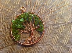 Jewelry Tutorial: Tree of Life Pendant. Excellent directions and pix.