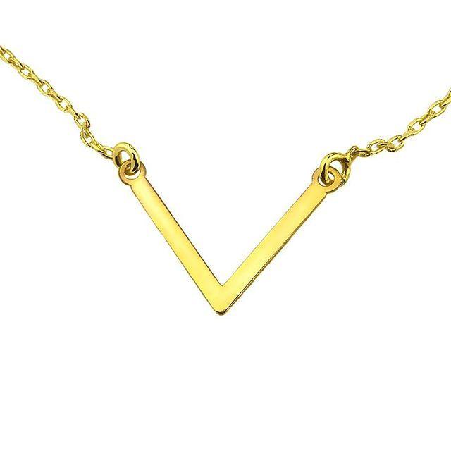 Minimalistyczny naszyjnik V. Srebro pr 925powlekane 24K zlotem ☺ 💎😋💍😆💄👡👛💞😊 59,90 PLN   https://www.lydiana.pl/pl/p/Pozlacany-naszyjnik-Celebrytka-V-925/473    #silverjewellery #bizuteriasrebrna #bizuteriagwiazd #goldjewellery #zlotabizuteria #jewellery #necklace #naszyjniki #celebrytki #vnecklace #bestjewellery #simplethebest #musthave #silvernecklace #love #milosc #miłość #gifts #prezent  #srebrnynaszyjnik #luxury #lux #topnecklace #naszyjnikcelebrytka #polishgirl…