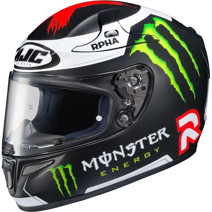 HJC Lorenzo Replica 3 Men's RPHA-10 Pro Street Motorcycle Helmet 2015 - Motorhelmets