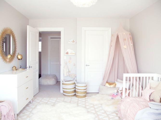chambre bebe décoratin pastel