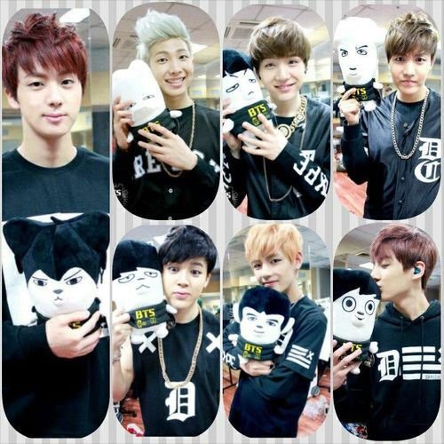 BTS and their Hip Hop Monsters!! ❤️