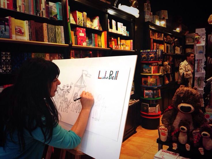 Serena Geddes at work in our Living Window   June 2014, Degraves St.