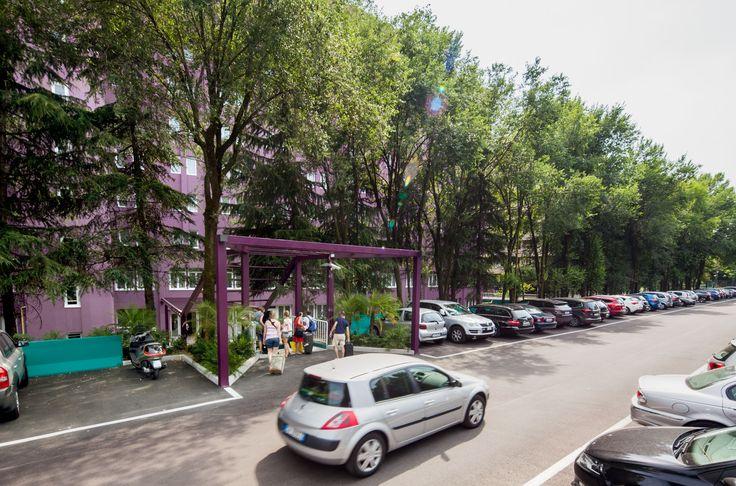 Il Parcheggio dell'Hotel Da Vinci Milano