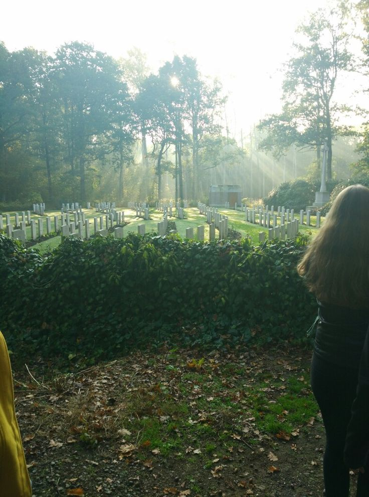 A bit of sun on these impressive graves