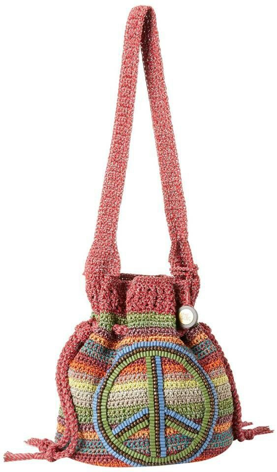 Crocheted bag! OMGosh! I need to try and make this one for my Hayli!