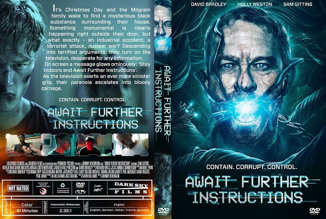 Await Further Instructions Dvd Cover Dvd Cover Design Dvd