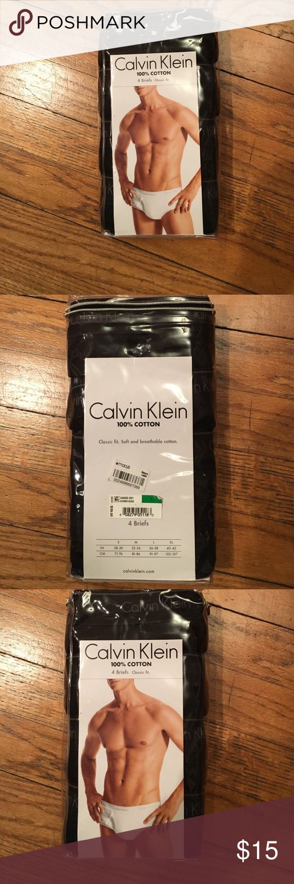 Brand new Calvin Klein briefs men's S/L Nice item bundle and save thank you for looking Calvin Klein Accessories