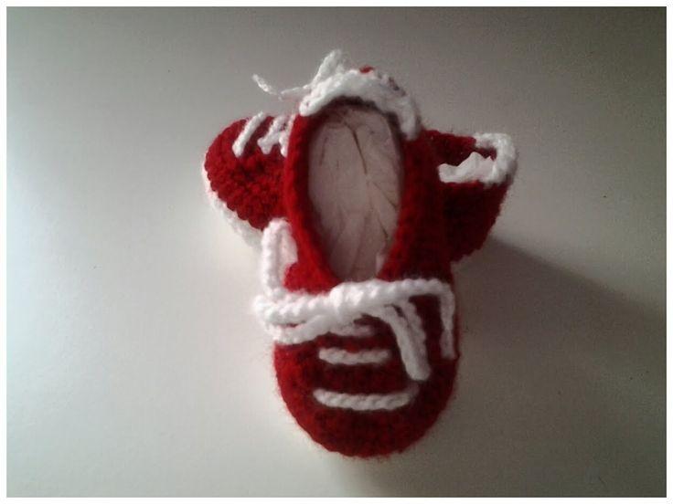 Zapatillas bebe a crochet #tutorial #DIY