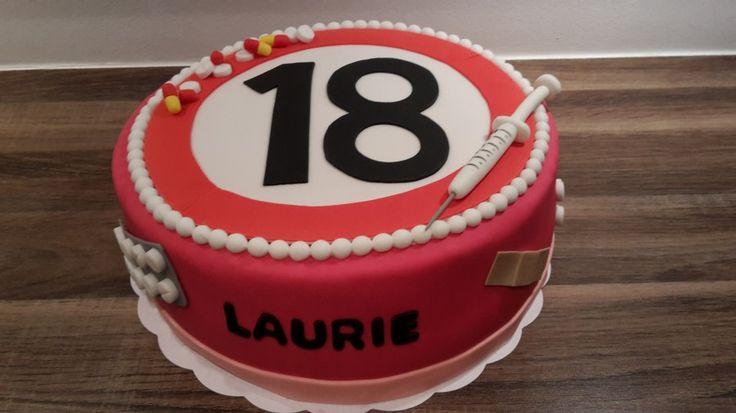 Verpleegkundige taart / Nurse cake