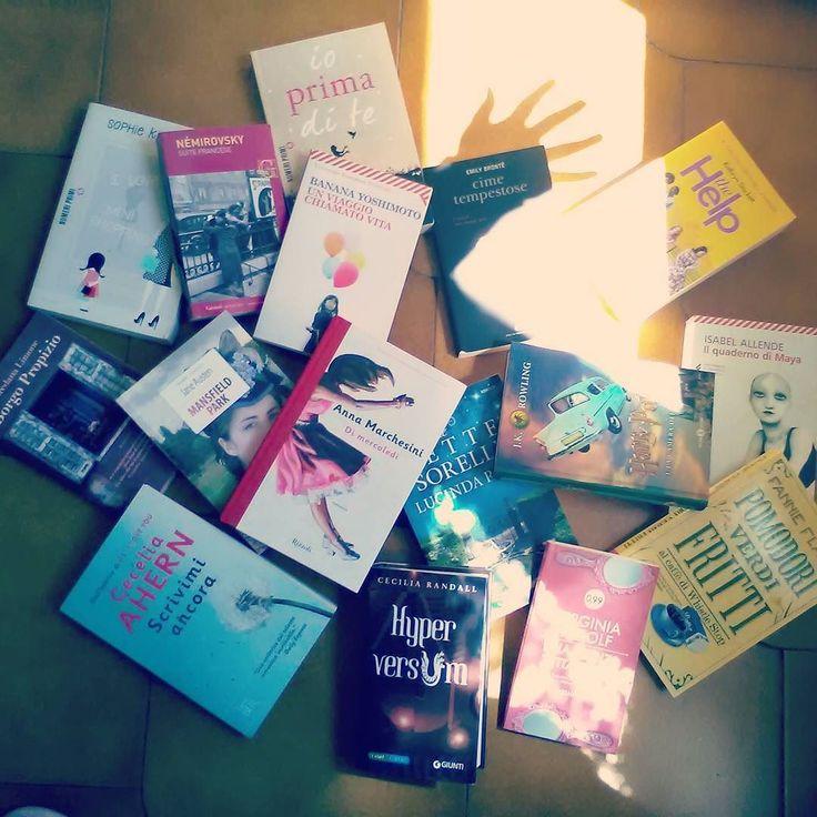 Giorno 4 della #ireadchallengemay di @leggendoabari - libri scritti da donne.  Tanti libri scritti da (grandi) Donne!! Trova l'intruso   #libri #leggere #letture #donne #books #bookstagram #instalibro #instabook #bookish #booklover #bookporn #bookaddict #bookworms  #jojomoyes #jkrowling #irenenemirovsky #ceciliarandall #janeausten #virginiawolf #emilybronte #fannieflagg #instalike #like #seguimi #bookblog #women #wecandoit #libro.