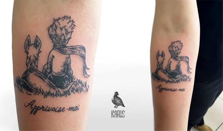 Little Prince Tattoo [Icarus pal]