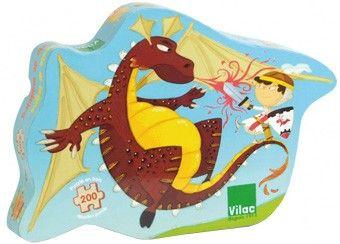 geweldige 'ridder' houten puzzel Vilac | kinderen-shop Kleine Zebra