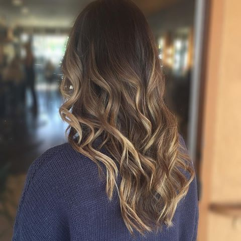 Balayage is like the Cadillac of the blonding game #imboutit