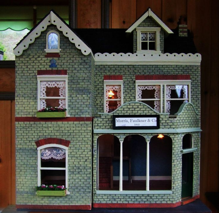 Doll Houses Dolls And Shops On Pinterest