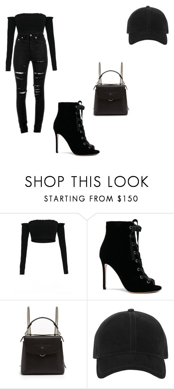 """""""a casting for a show"""" by alexa78-1 on Polyvore featuring Yves Saint Laurent, Gianvito Rossi, Fendi and rag & bone"""