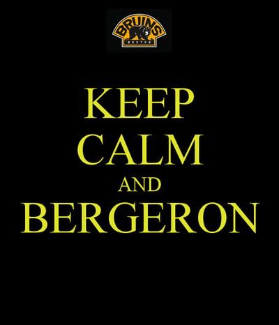 Boston Bruins - Patrice Bergeron