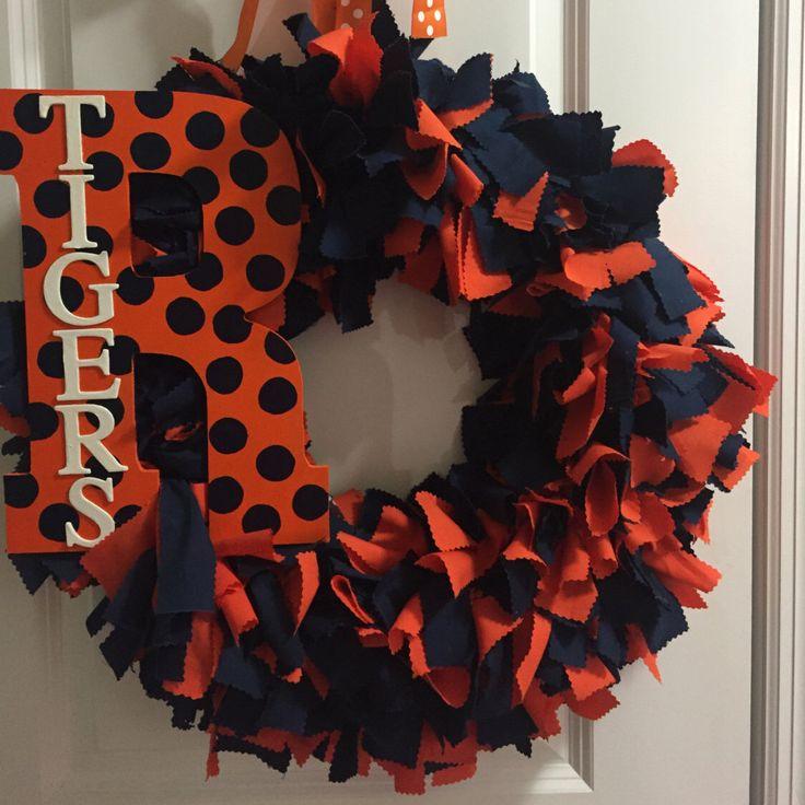 Custom Auburn Wreath by TheTnTwo on Etsy https://www.etsy.com/listing/258531702/custom-auburn-wreath