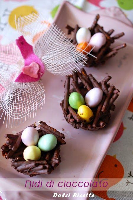 Nidi di cioccolato #chocolatenest #nest #nididicioccolato